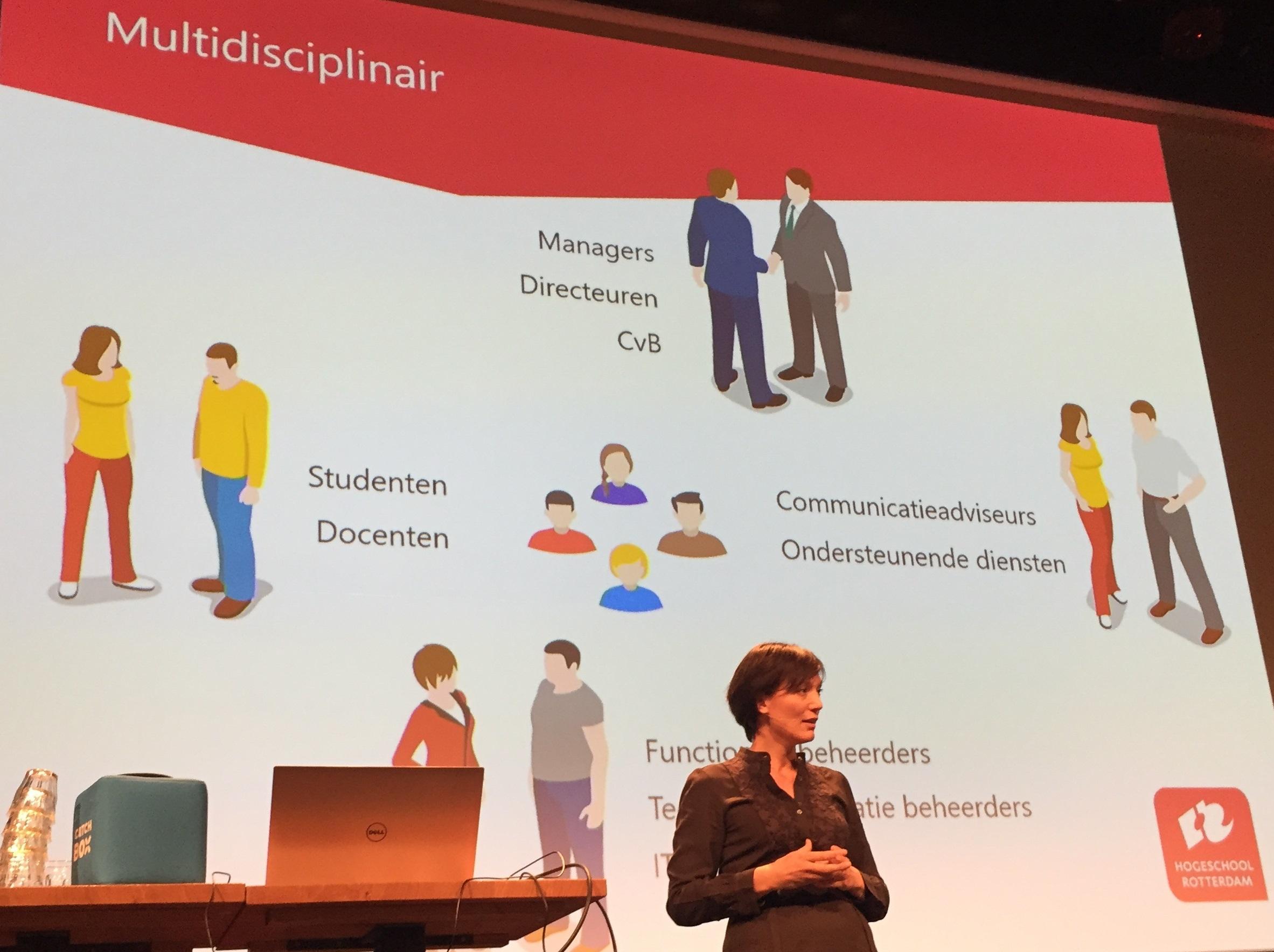 Hogeschool Rotterdam met StudieNet voorbeeldcase voor